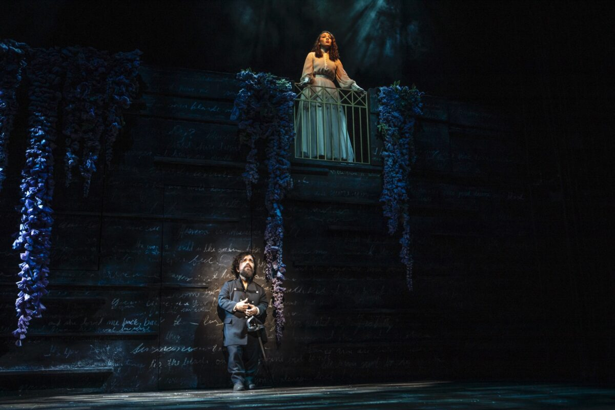 Dinklage and Cephas-Jones in CYRANO