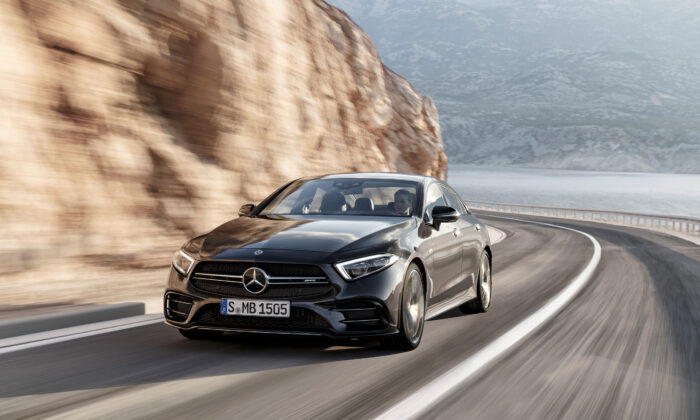 2019 Mercedes-AMG CLS 53 Coupe. (Coutesy of Mercedes-Benz)