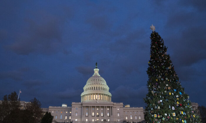 The U.S. Capitol in Washington on Dec. 4, 2019. (Sarah Silbiger/Getty Images)