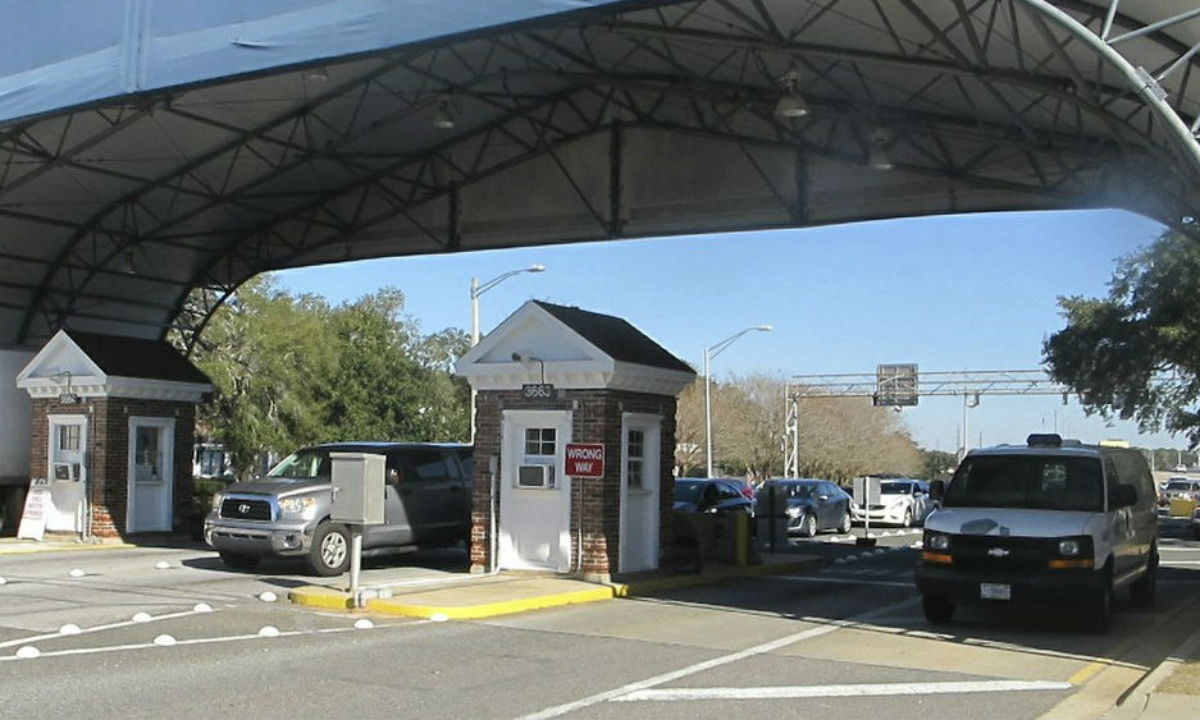 Naval Air Base Station in Pensacola, Fla.