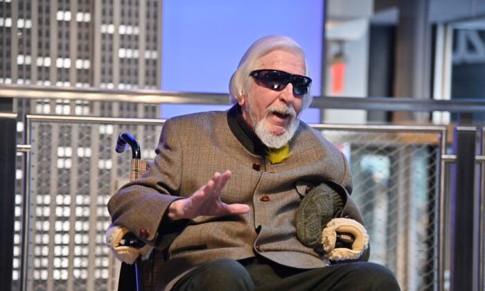 Caroll Spinney, Sesame Street's Big Bird portrayer and puppeteer, in New York City on Nov. 08, 2019. (Photo by Theo Wargo/Getty Images)