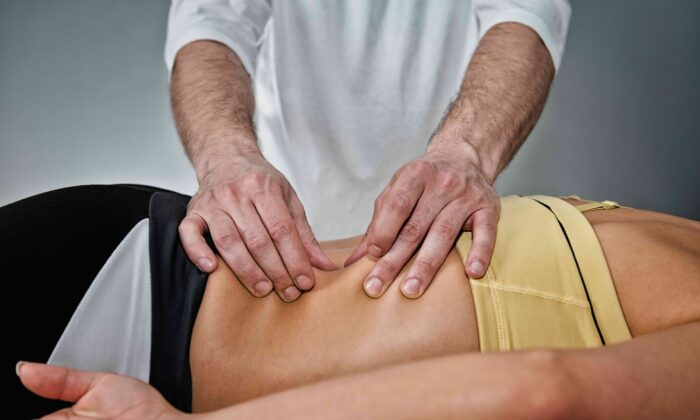 Myofascial release (or MFR) is a type of hands-on treatment that is used to reduce tightness and pain in the body's connective tissue system. (Microgen/Shutterstock)