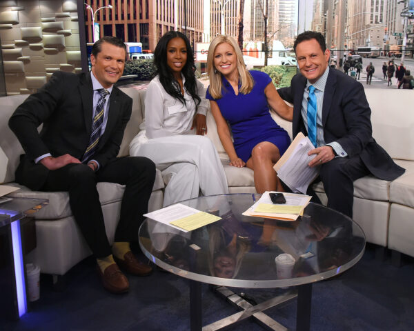 "Singer Kelly Rowland Visits ""Fox And Friends"""