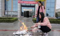 Chinese City Holds Book Burning to Destroy Religious Materials