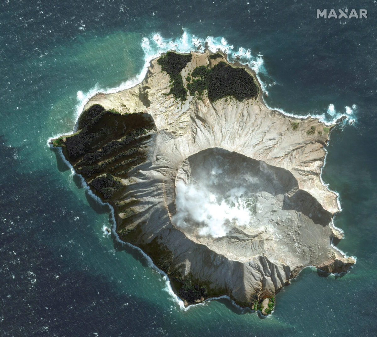 White Island. NZ.