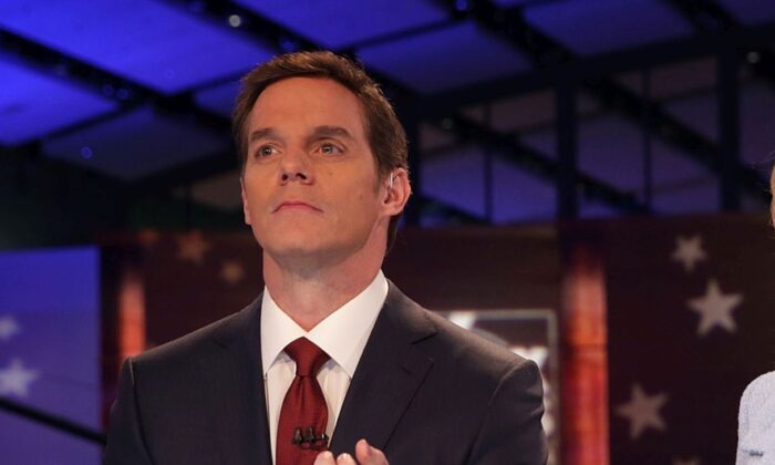 Bill Hemmer in a 2016 file photo.  (Photo by Alex Wong/Getty Images)