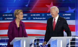 Warren, Biden Open to Each Other as Possible Vice Presidents