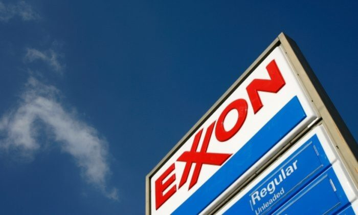 An Exxon gas station in Burbank, Calif., on Feb. 1, 2008. (David McNew/Getty Images)
