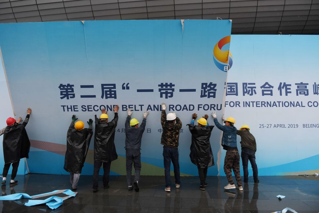 Beijing Aims to Use 'Belt and Road' Project to Achieve Dominance in Space and Cyberspace