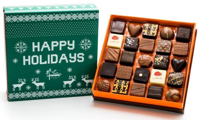 Happy Holidays Jacques' Choice. (Courtesy of Jacques Torres)
