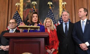 Speaker Nancy Pelosi and Top Democrats Unveil an Anti-Corruption Reform Package