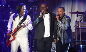 Earth, Wind & Fire Make History as First African American Group Inducted Into Kennedy Center Honors