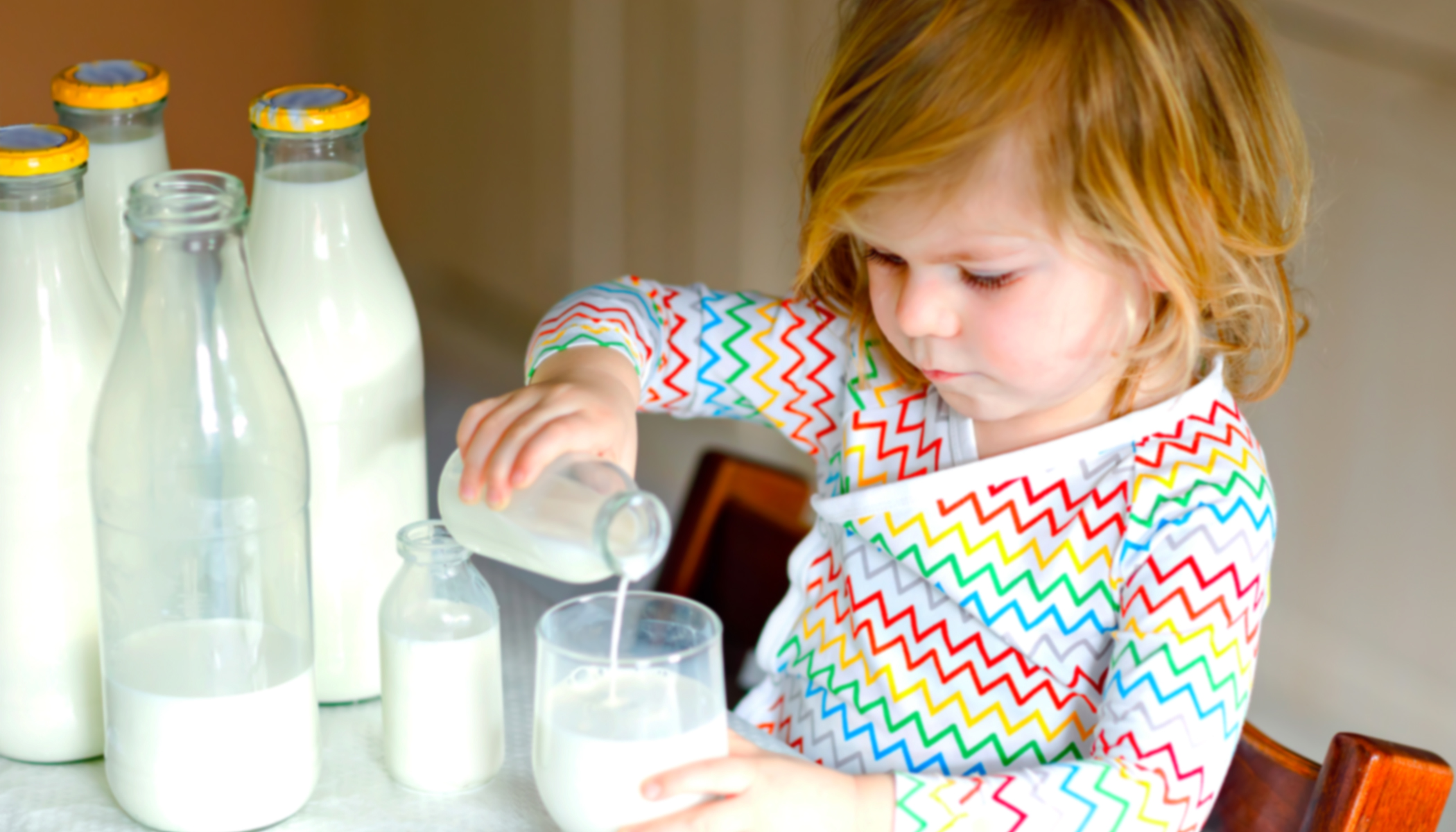 Mother Posts Terrifying Warning: Toddler Hospitalized From Drinking 'Too Much Cow's Milk'