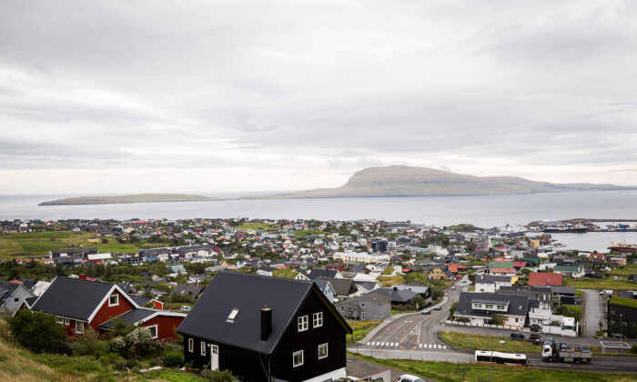 A view over the Faeroe Islands' capital Torshavn on Sept. 04, 2018. (Maja Hitij/Getty Images)