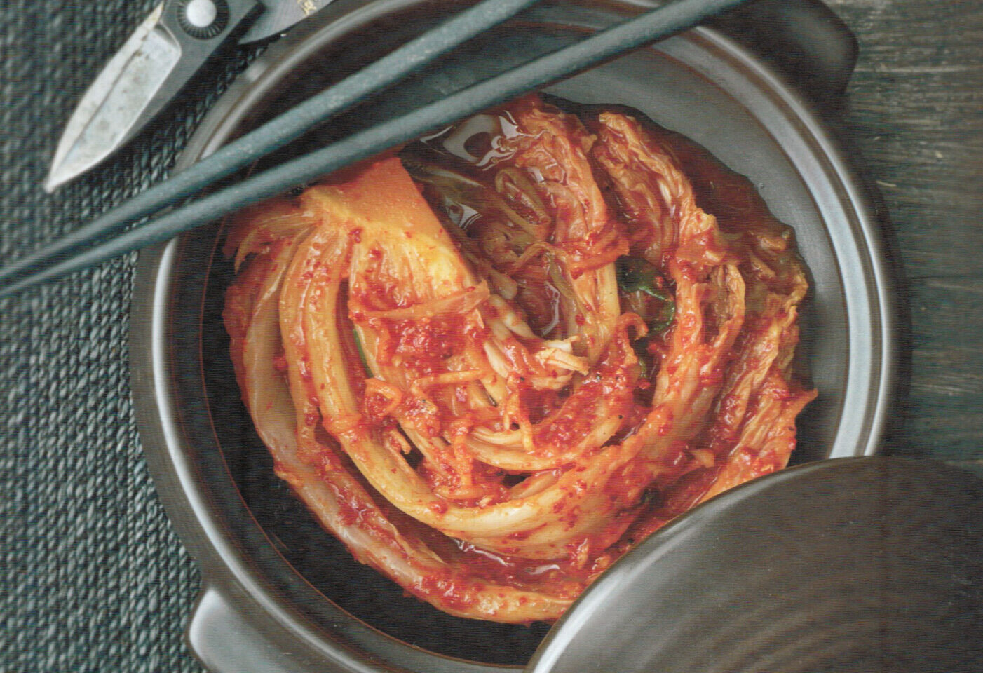 Cabbage Kimchi (Pogi Kimchi)