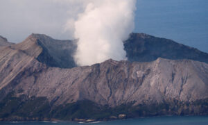 New Zealand Police Suspend Search for 2 Missing in Deadly Eruption