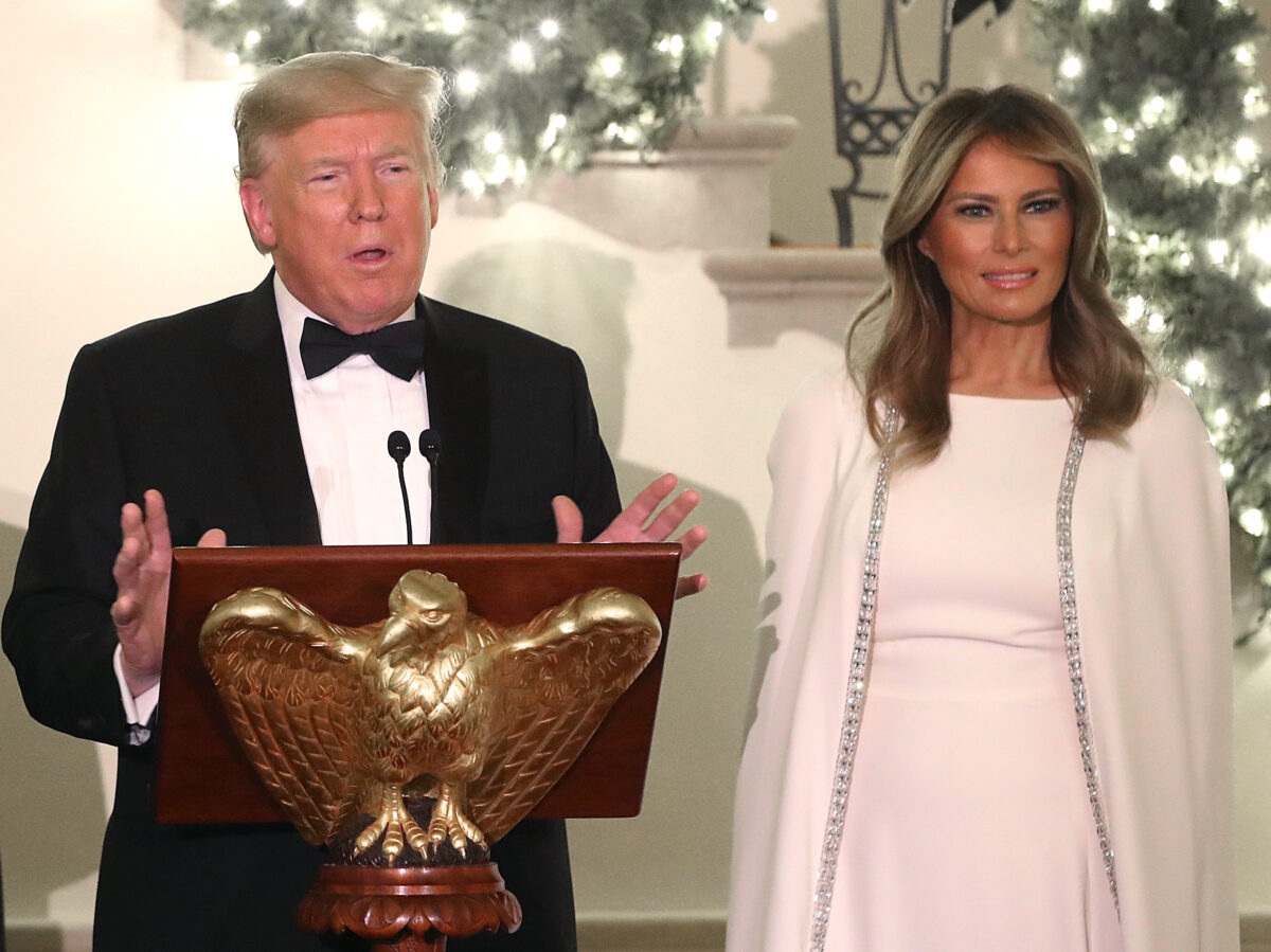 The President And First Lady Attend Congressional Ball At The White House