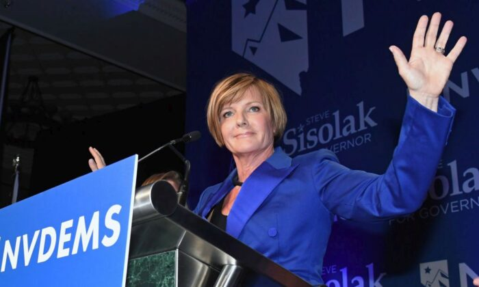Rep. Susie Lee (D-Nev.) in a file photo. (Photo by Ethan Miller/Getty Images)