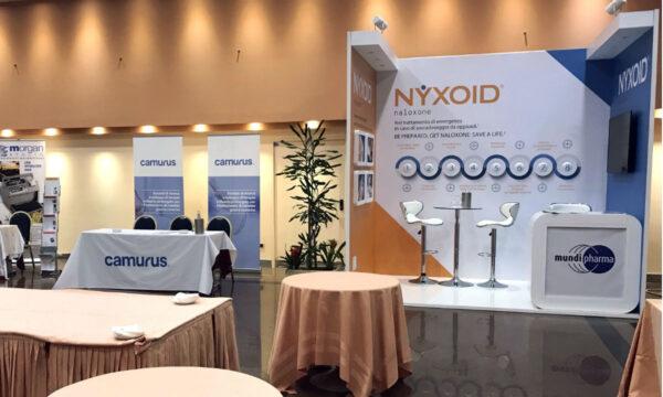 Mundipharma, promoting Nyxoid