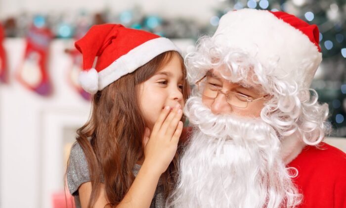 Our myths about Santa can encourage shared kindness and generosity. (Dmytro Zinkevych/Shutterstock)
