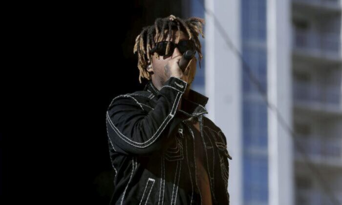 Juice Wrld performs onstage during the 2019 iHeartRadio Music Festival and Daytime Stage at the Las Vegas Festival Grounds in Las Vegas, Nev., on Sept. 21, 2019. (Photo by Bryan Steffy/Getty Images)