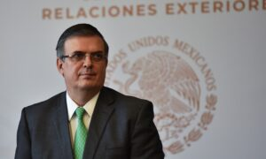 Mexico's Top Diplomat Expects 'Constant and Growing' Wave of Migrants