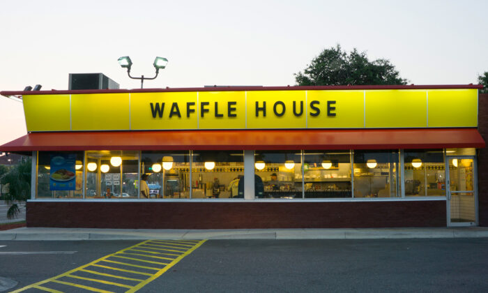 A Waffle House in a file photograph. (Illustration - Shutterstock)