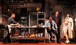 Theater Review: 'Seared': A Literal Taste Test