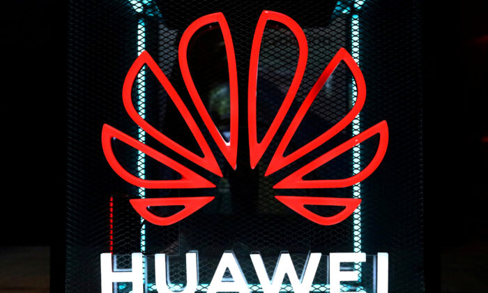 The Huawei logo is pictured at the IFA consumer tech fair in Berlin, Germany on Sept. 5, 2019. (Hannibal Hanschke/Reuters)