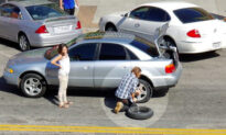 Homeless Man's Selfless Act of Changing a Woman's Tire Wins Many Hearts