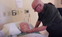 Moving Video Shows 93-Year-Old Man Singing to His Dying Wife of 73 Years in Hospice