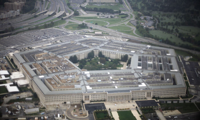 An aerial view of the United States military headquarters, the Pentagon, in a file photo. (Jason Reed/Reuters)