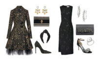 The Little Black Dress Gets a Makeover for the Holidays