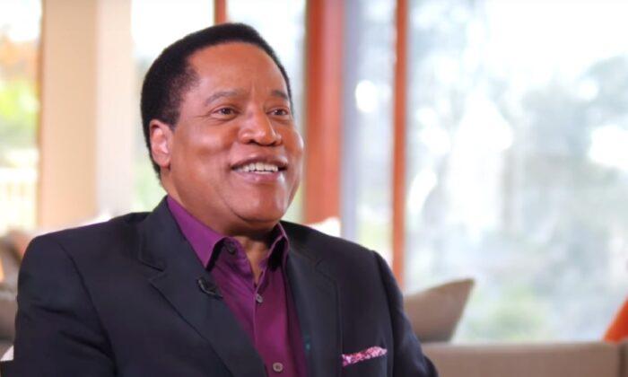 Larry Elder, talk show host. (The Epoch Times)