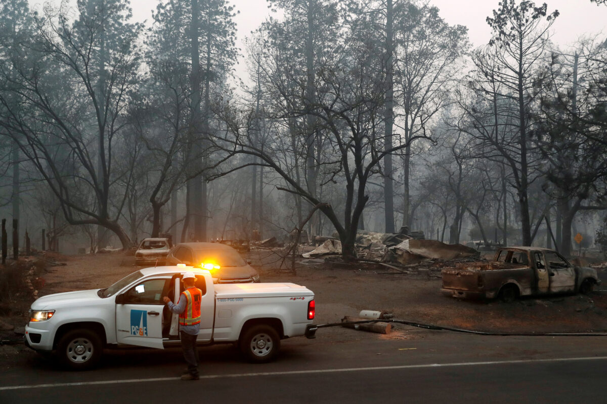 Us Judge Approves Pg Amp E Deal With California Wildfire