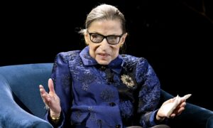 Justice Ginsburg Says Trump 'Is Not a Lawyer'