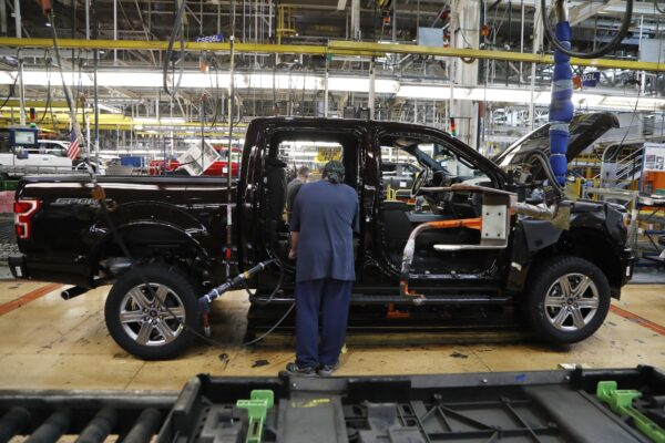 Ford F-150 Truck assembly