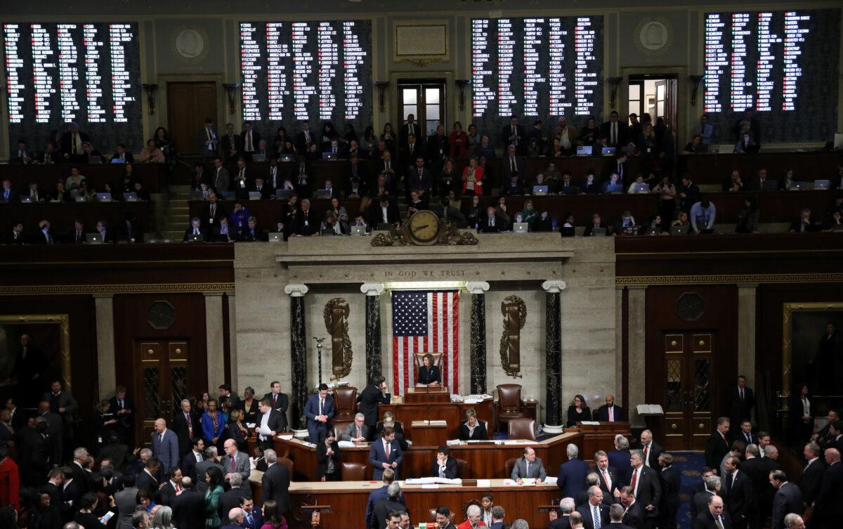 U.S. House impeachment vote Trump
