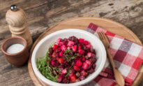 Beet Vinaigrette: A Recipe for the Cutest 'Christmas Sweater'