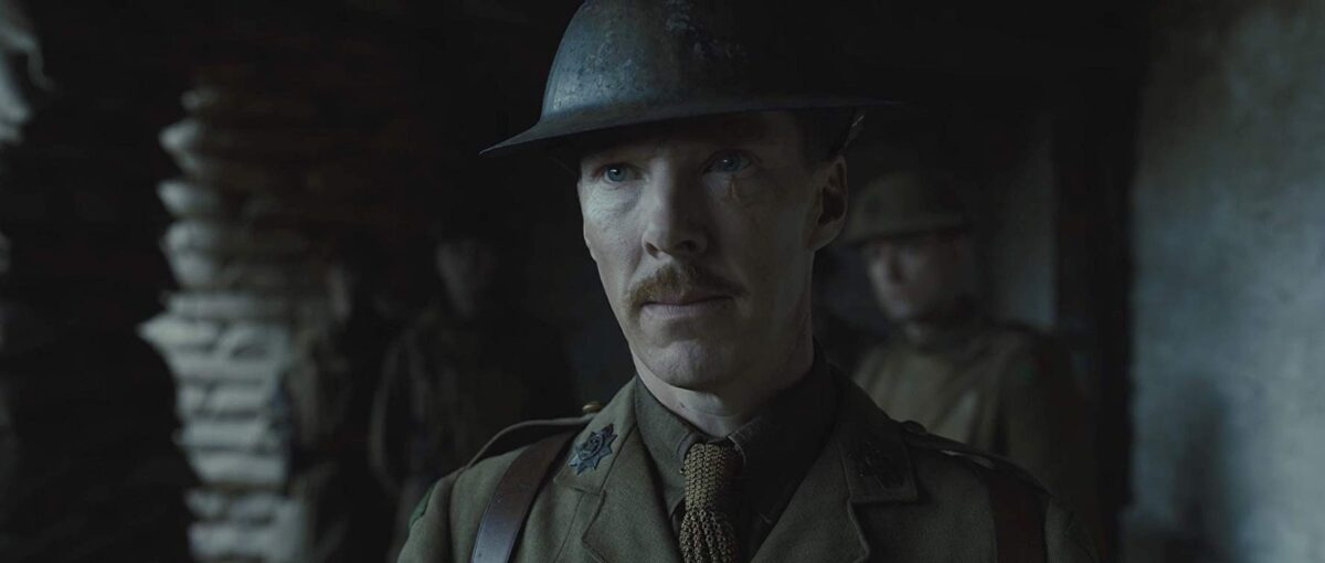 British army officer with helmet
