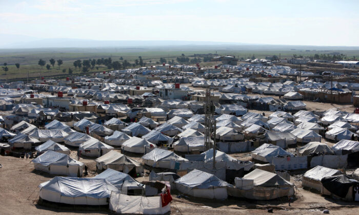 A general view of al-Hol displacement camp in Hasaka governorate, Syria April 2, 2019. (Ali Hashisho/Reuters/File Photo)