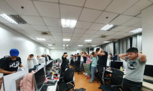 Philippine Raid Nabs 342 Illegal Chinese Gaming Workers