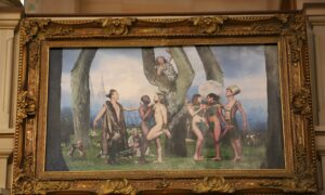 Church Removes Painting Depicting Gay Garden of Eden for Not Being Politically Correct Enough