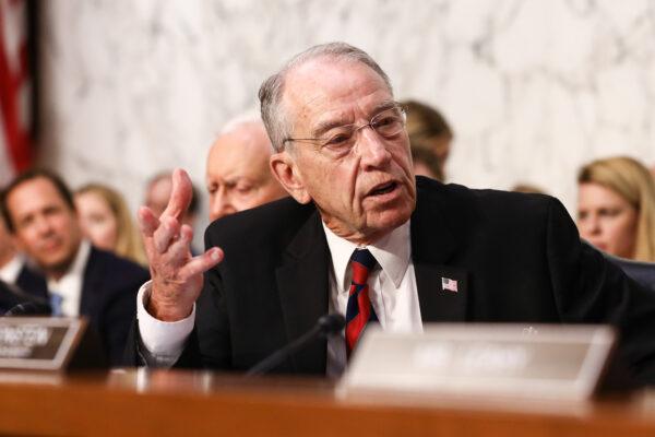 Sen. Chuck Grassley (R-Iowa) speaks
