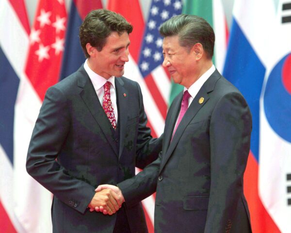 Xi jinping trudeau