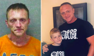 Former Drug Addict Shares Stunning 'Before and After' Pics, Gets Back Custody of His Son