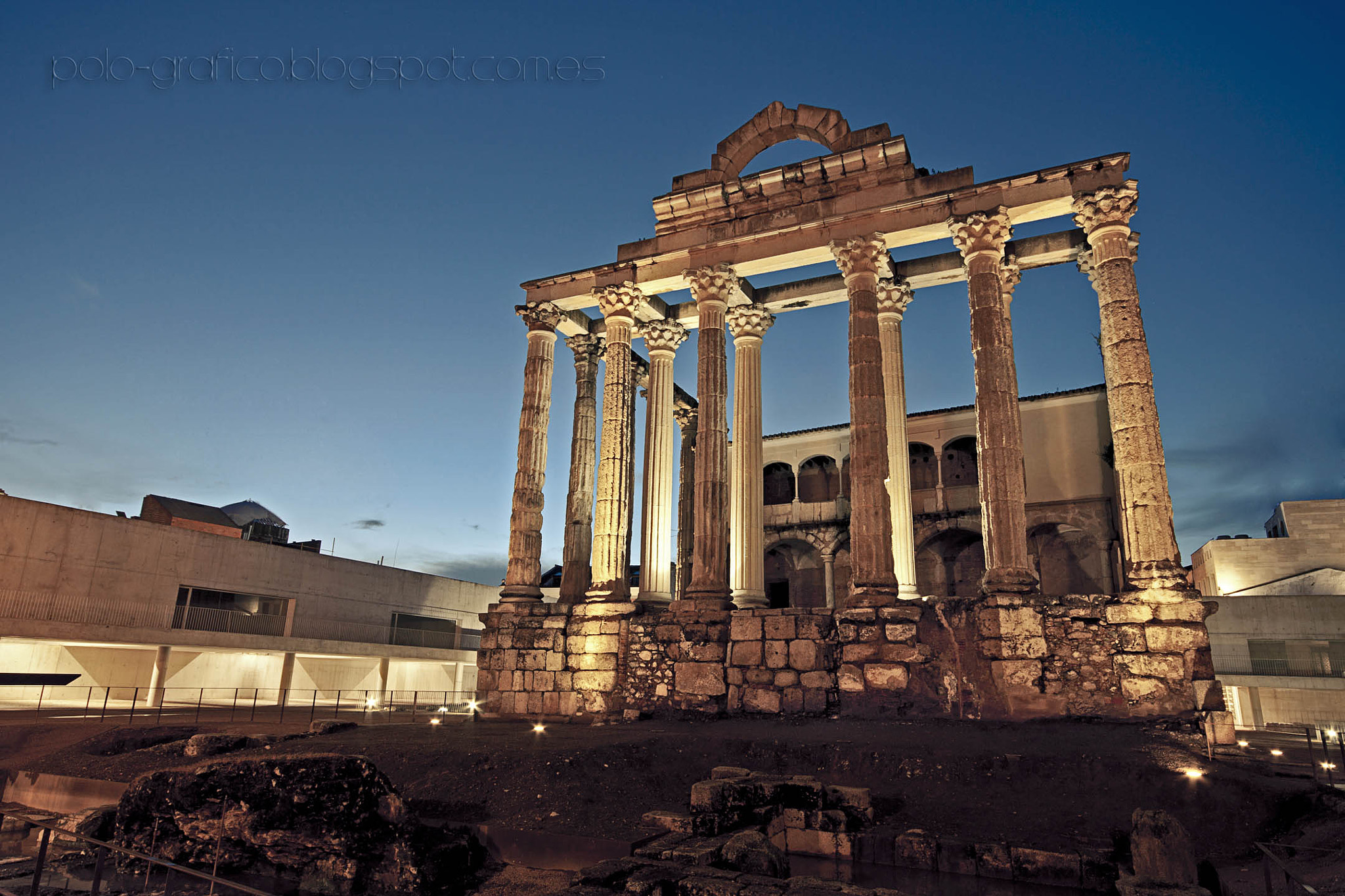 Temple of Diana spain