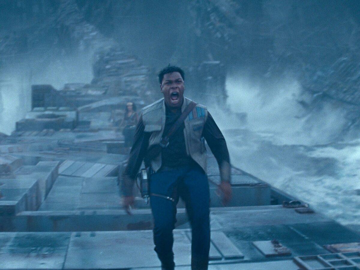 John Boyega in Star Wars movie