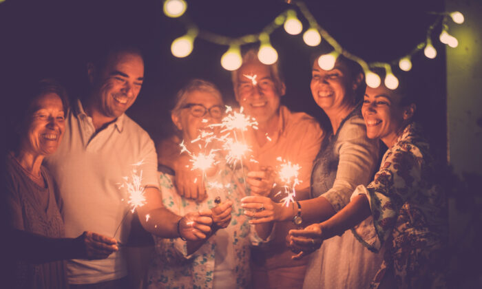 Ring in the New Year with your loved ones close. (Shutterstock)