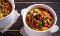 Instant Pot Black-Eyed Pea and Sweet Potato Stew